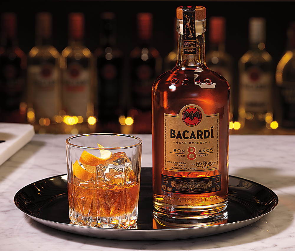 bacardi old-fashioned