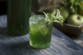 Green Machine cocktail