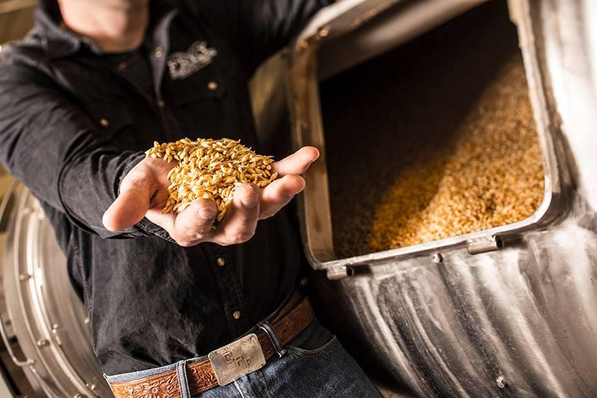 Grains at Frey Ranch Estate Distillery