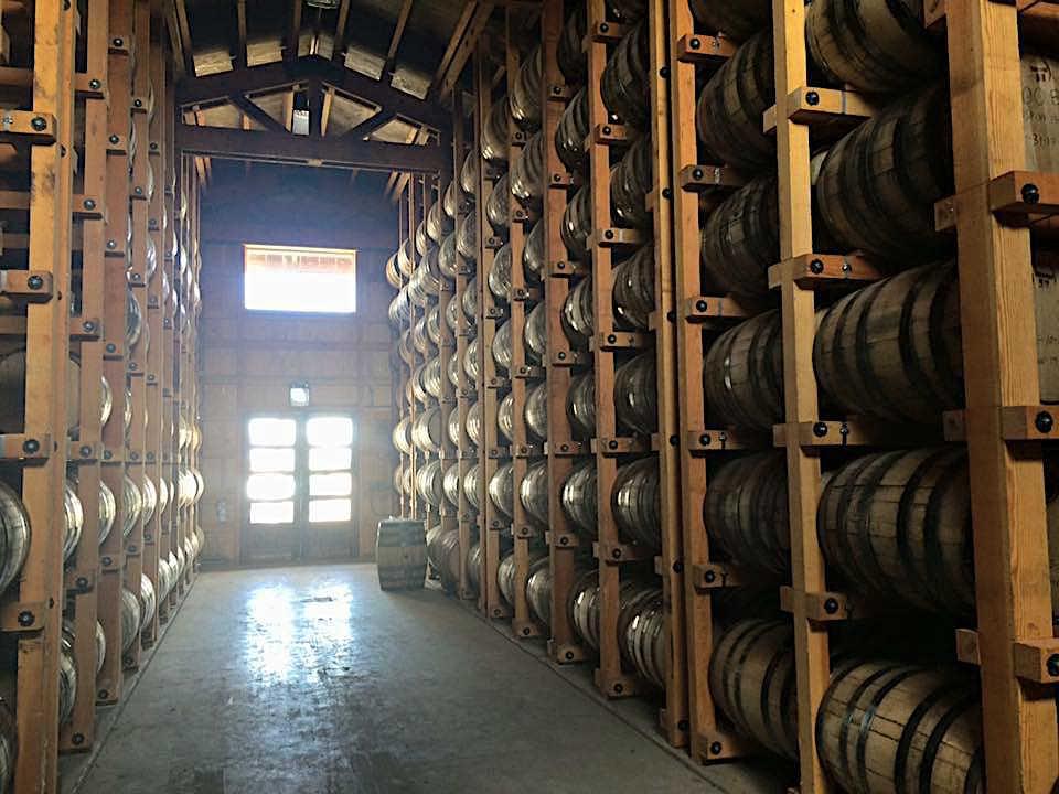 Frey Ranch Whiskey Barrels