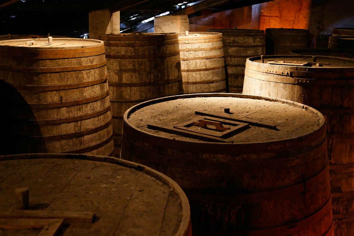 Cachaca Barrels