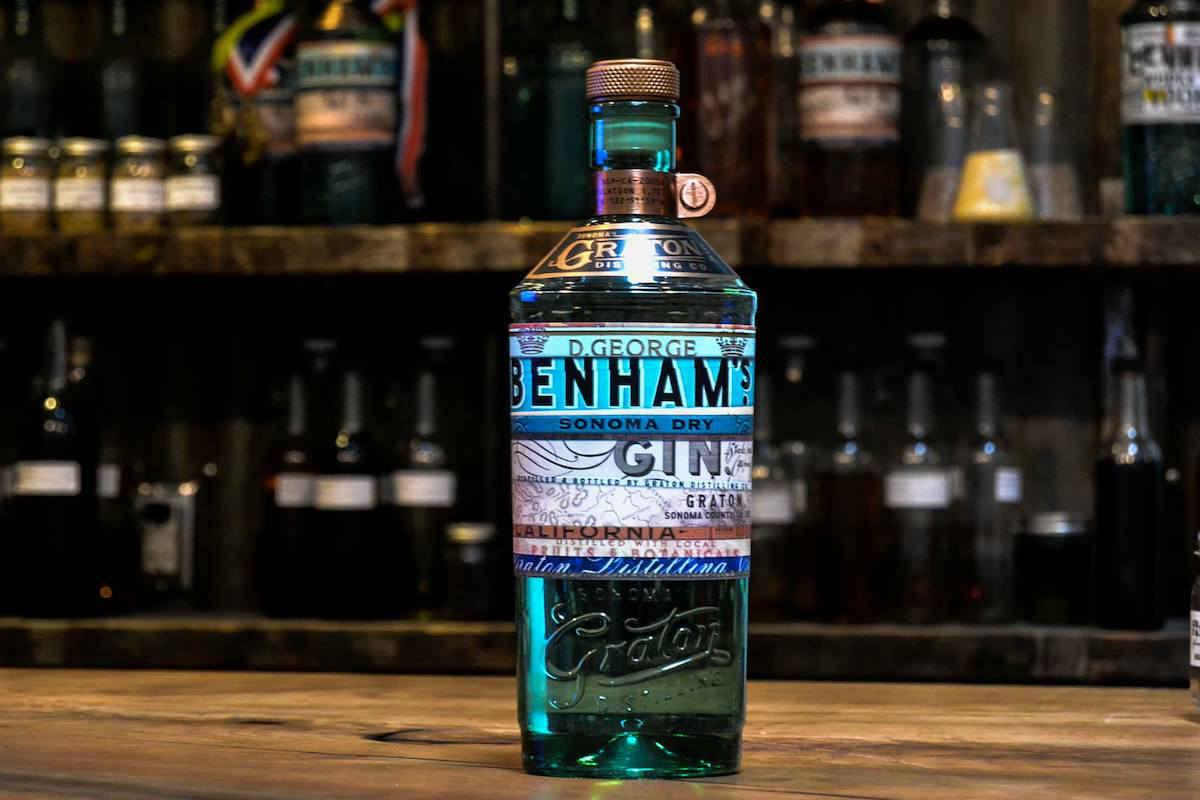 d george benham's sonoma dry gin
