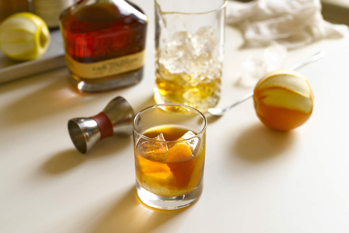 maker's mark cask strength old fashioned
