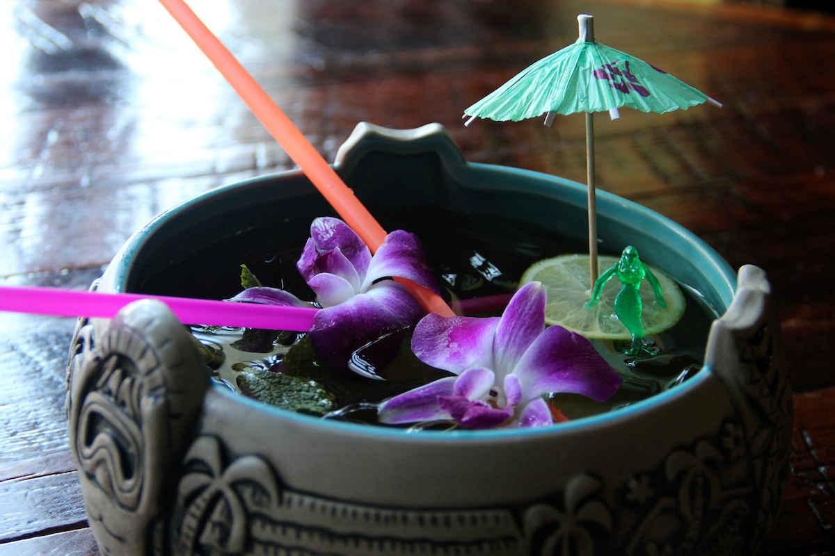 Tiki Cocktail Umbrella