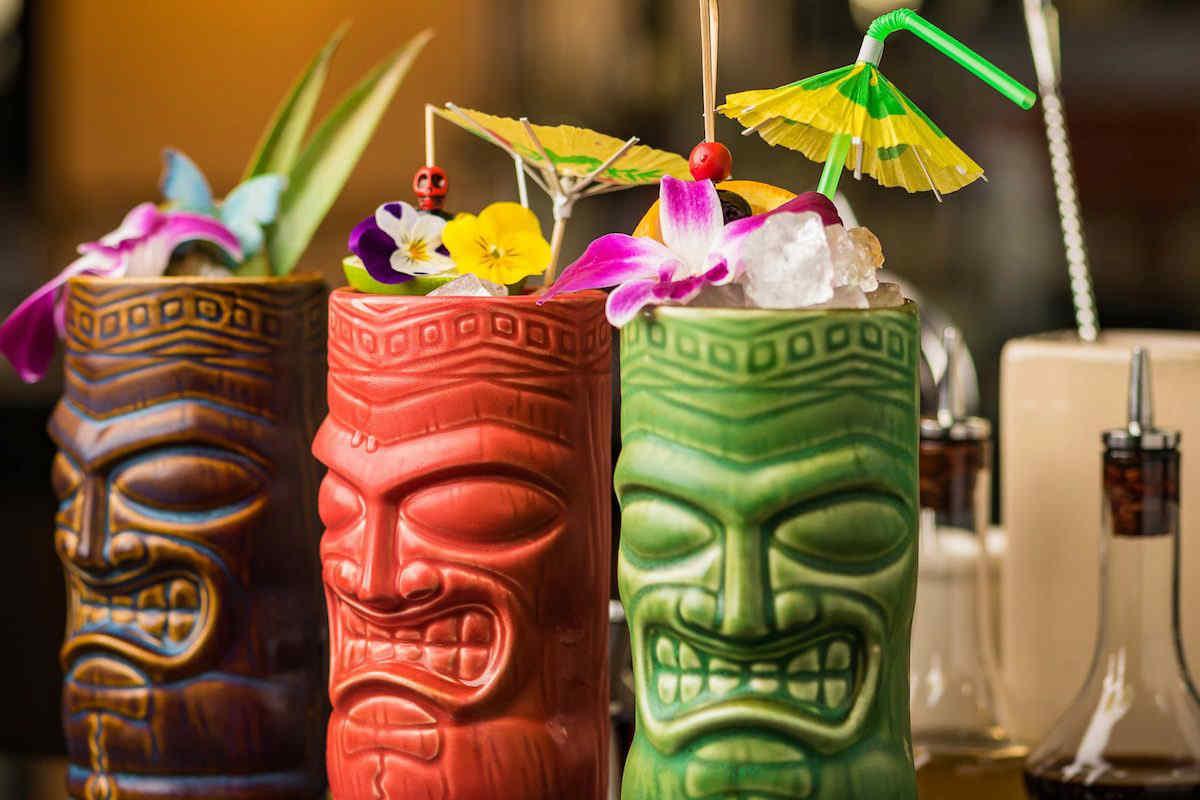 tiki and tropical drinks