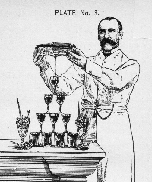Harry Johnson, bartender