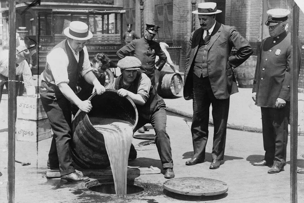 Prohibition Disposal in NYC
