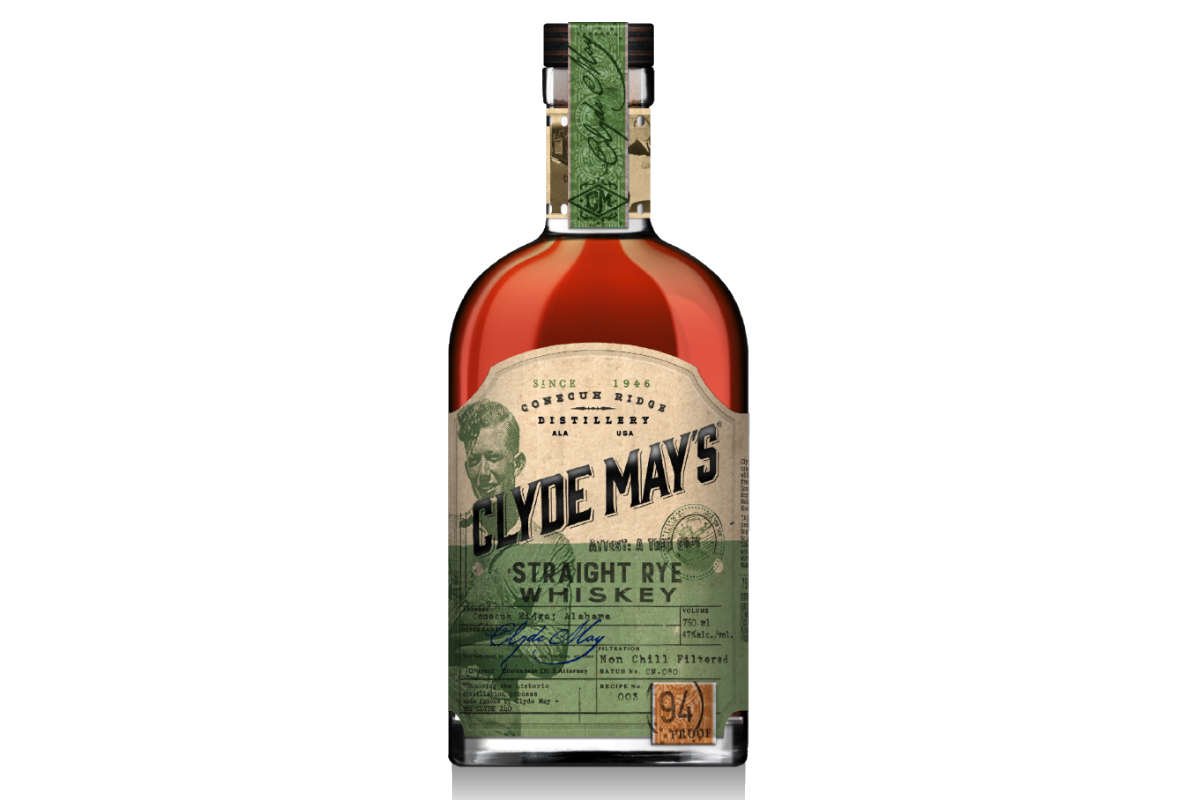Clyde May's Straight Rye Whiskey | Bevvy