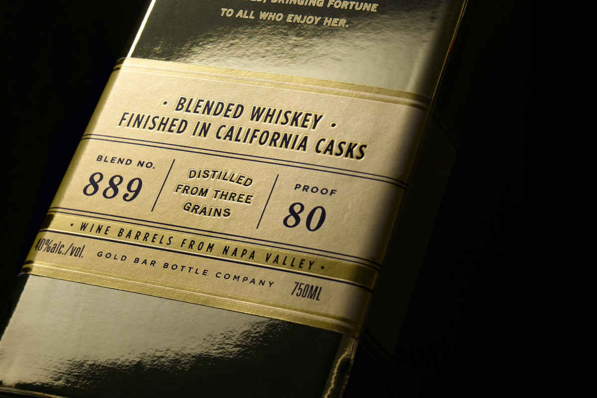 gold bar whiskey