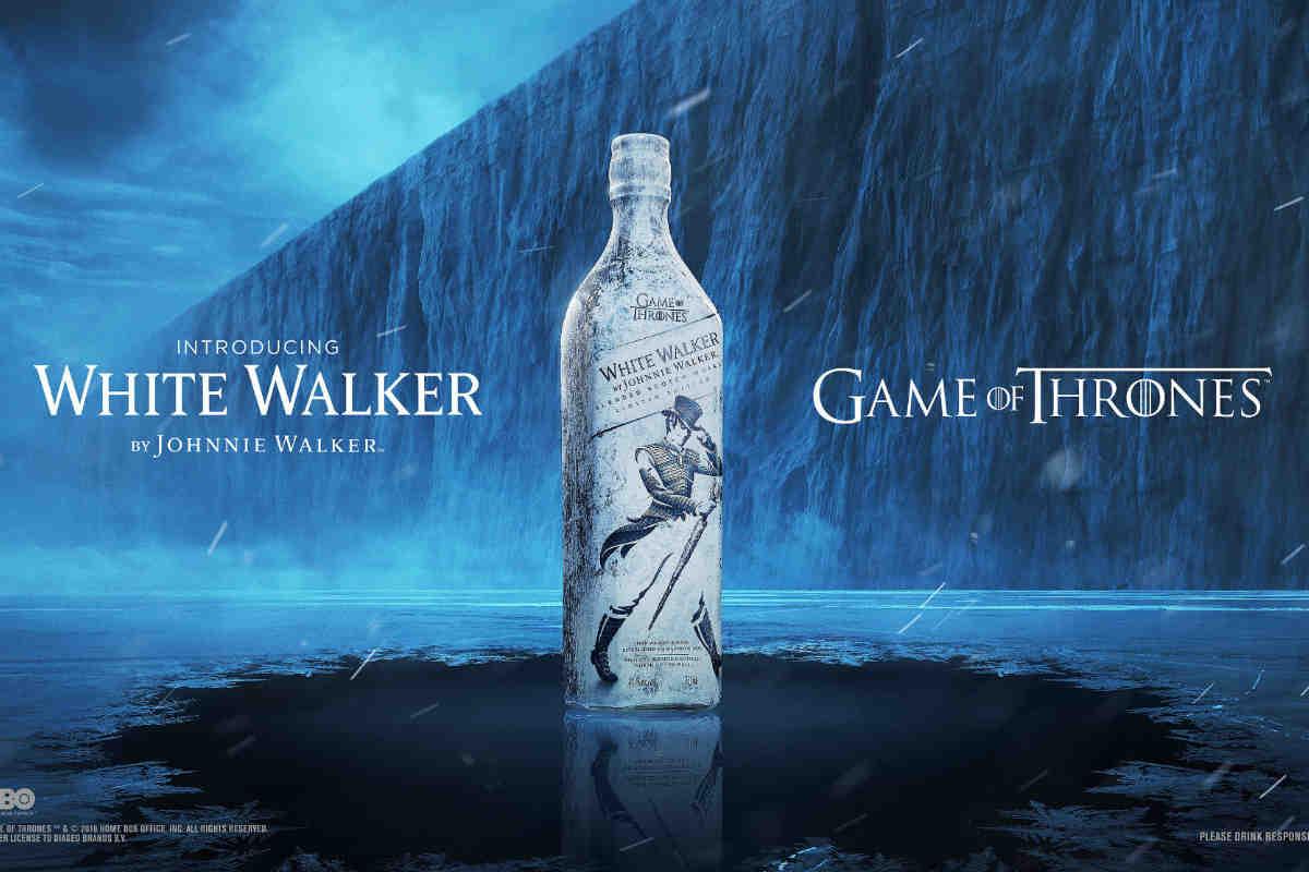 Johnnie Walker White Walker Whisky. Photo: Diageo.