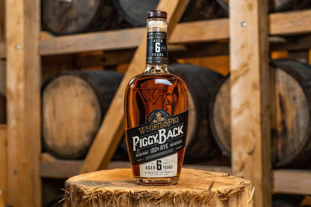 whistlepig piggyback rye whiskey