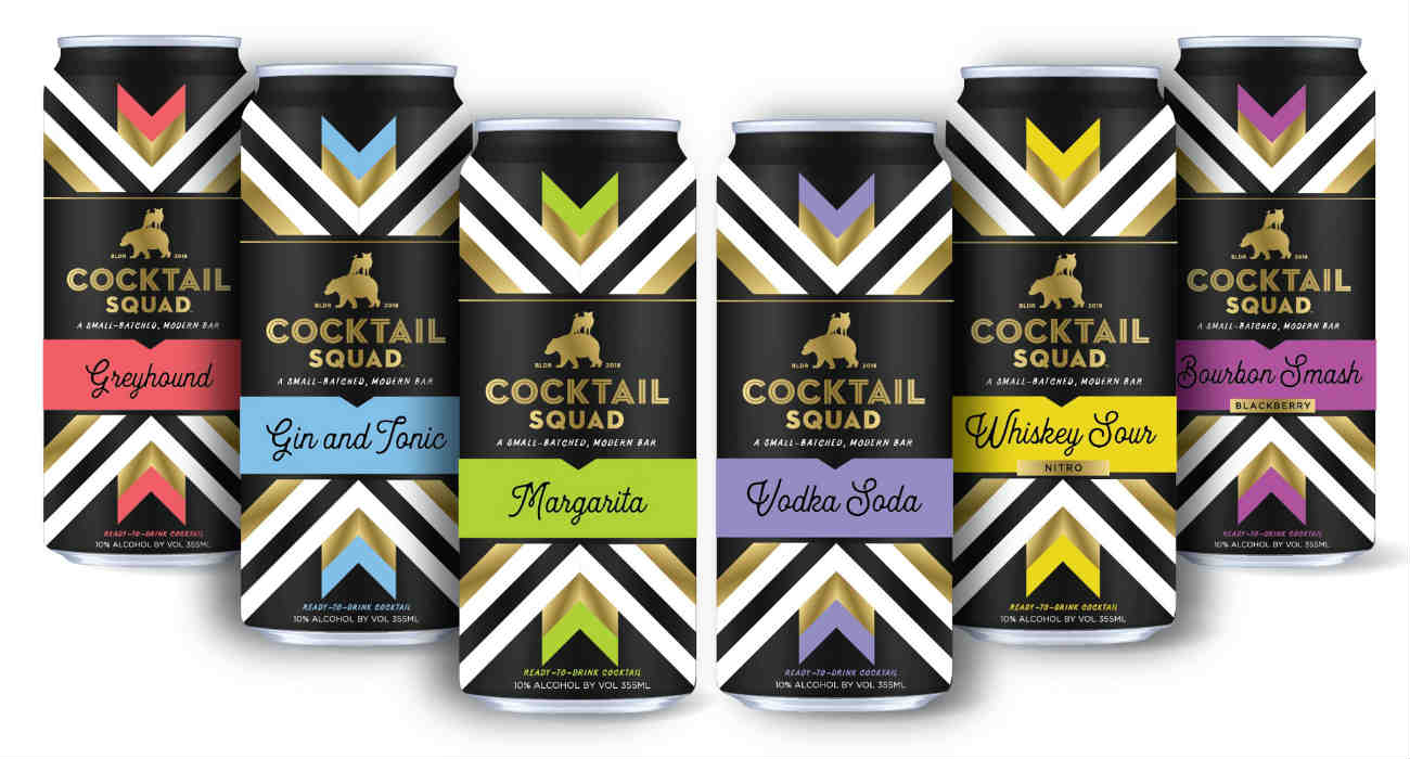 Cocktail Squad Canned Cocktails