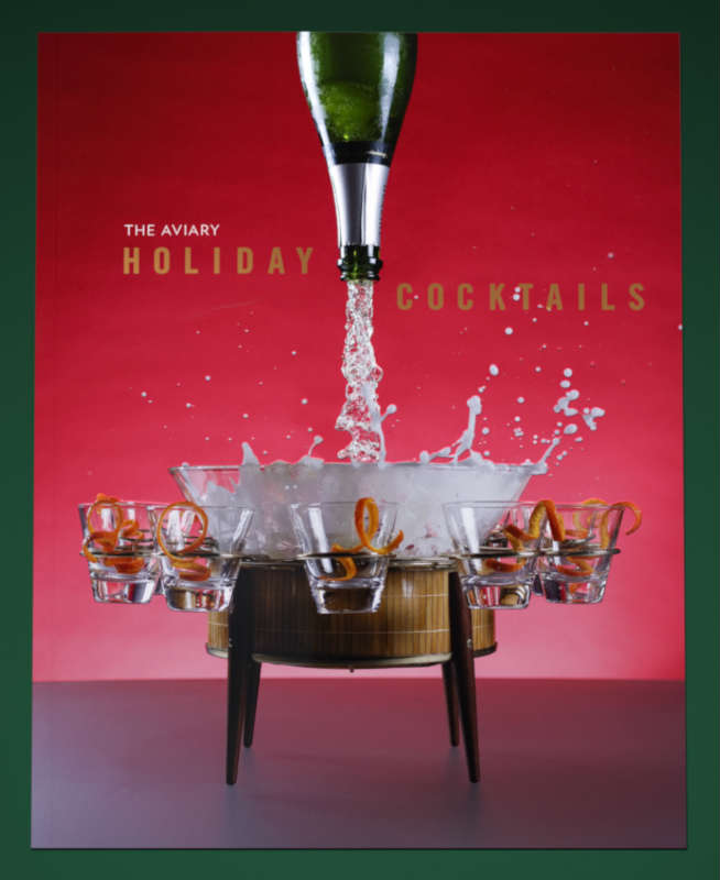 The Aviary Holiday Cocktails Book