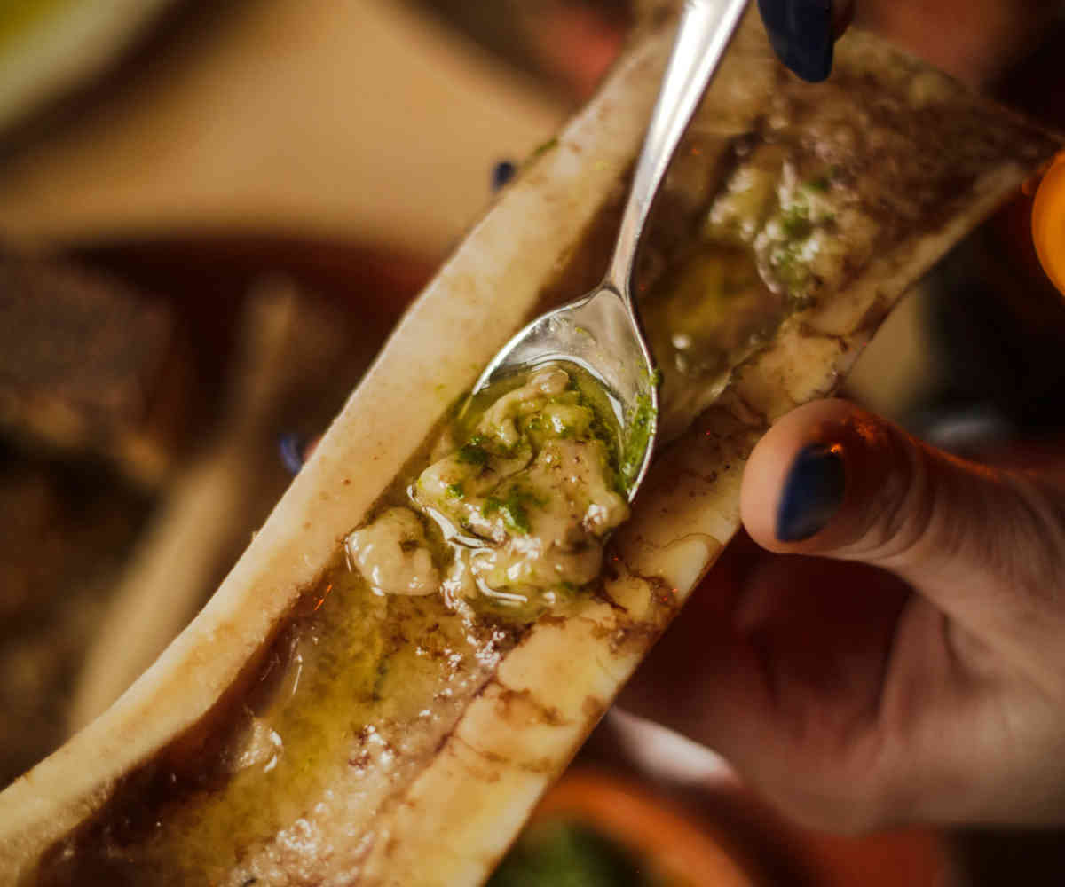 Bone Marrow at Bar Isabel in Toronto