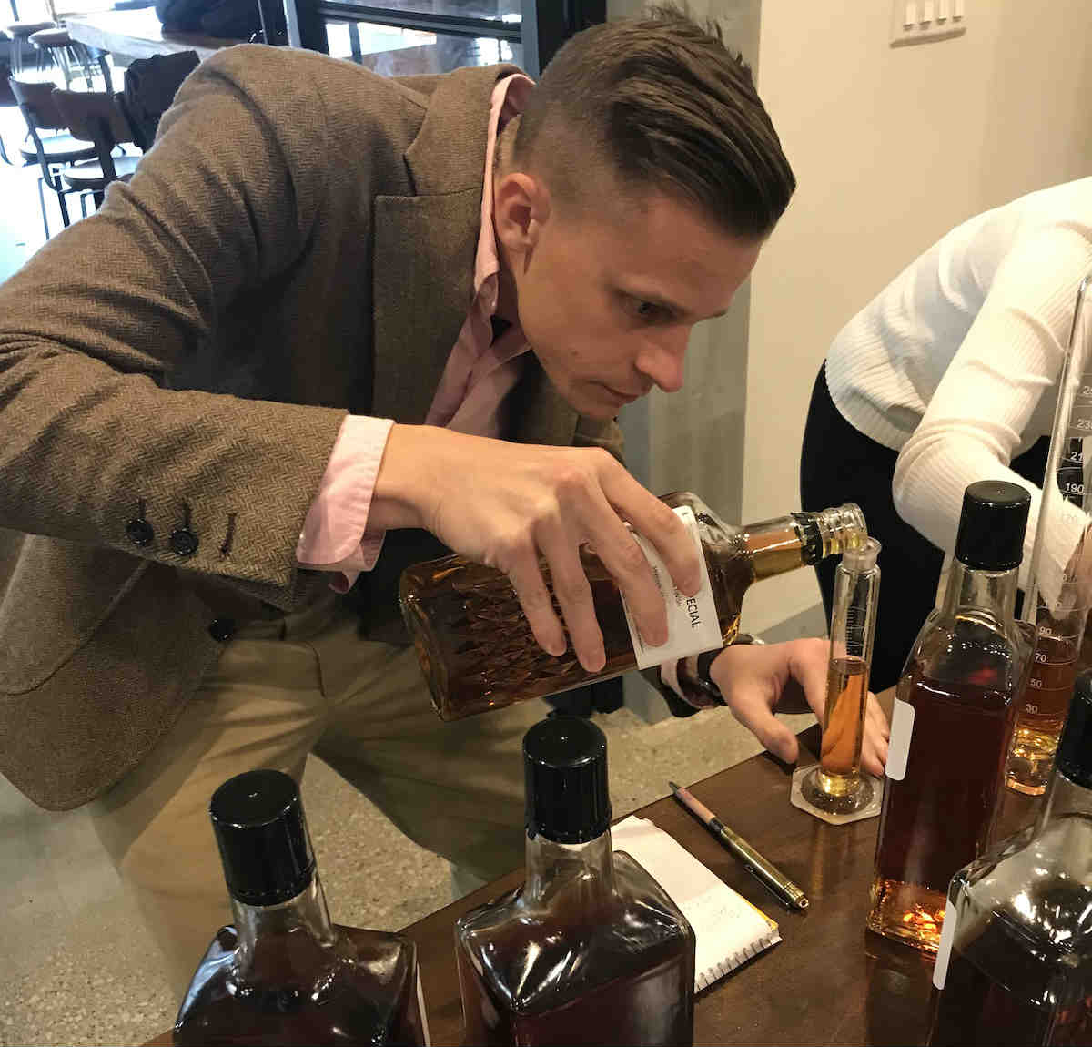 Blending Whisky