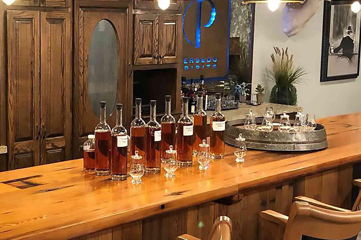 Persedo Spirits Tasting Room
