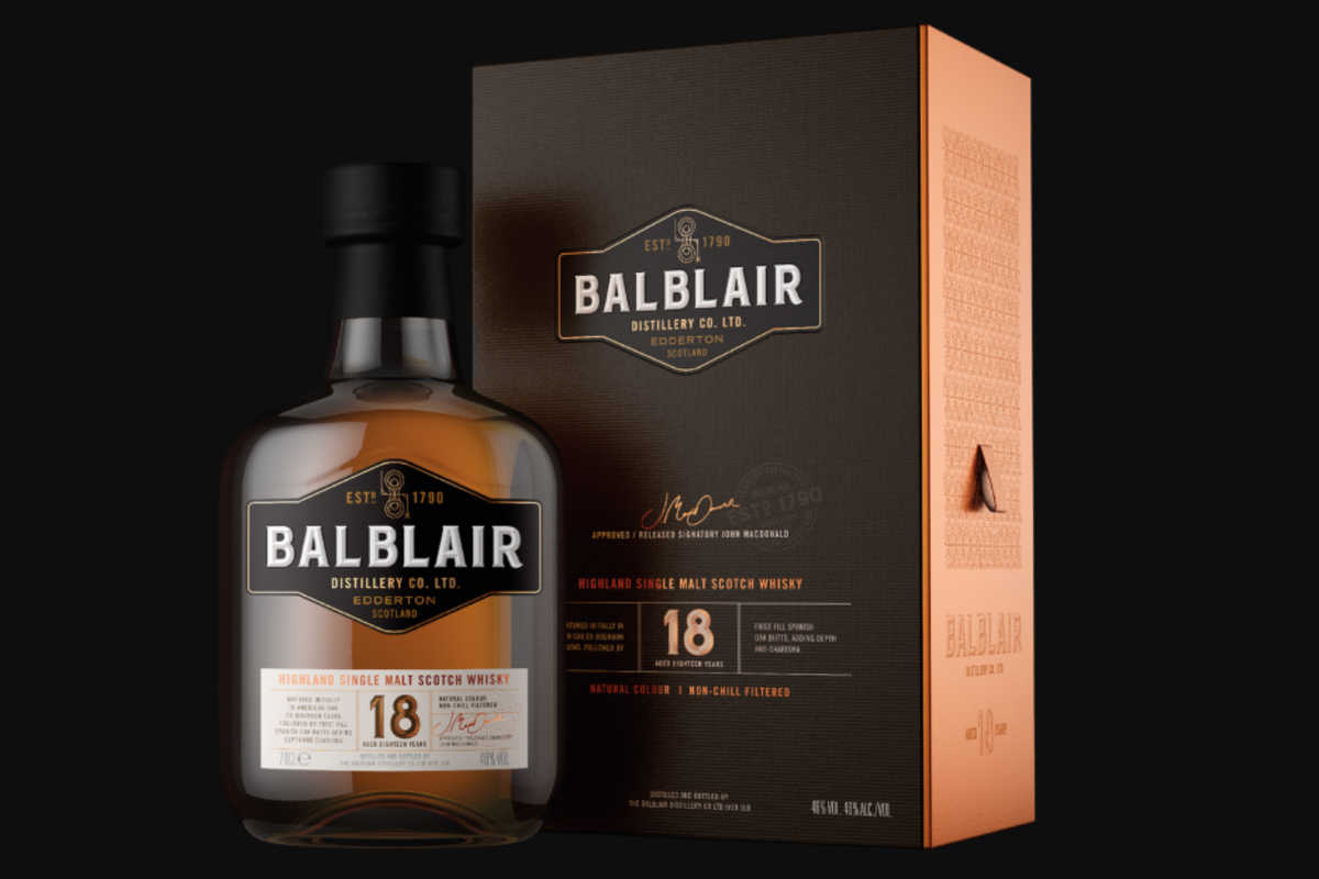 Balblair 18 Scotch Whisky