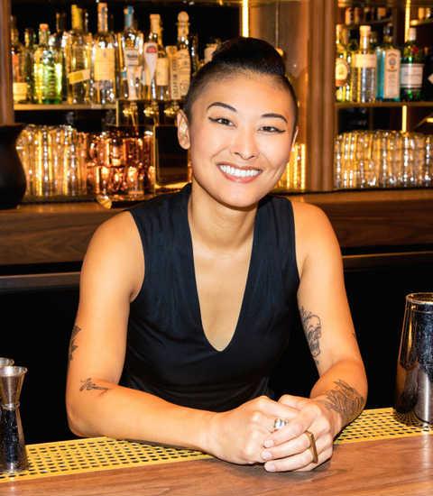 Ash Miyasaki bartender