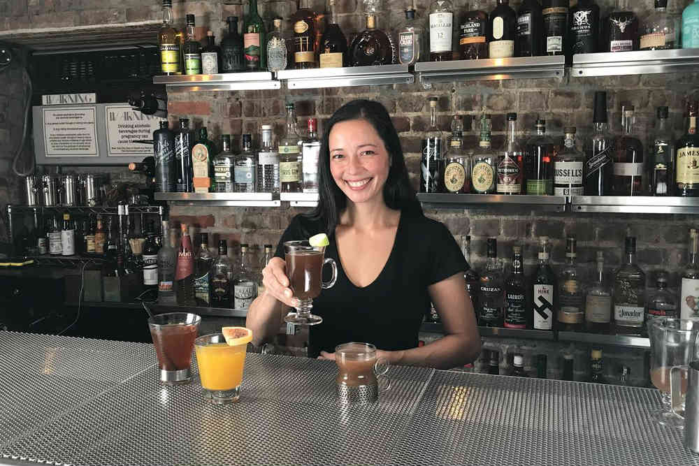Bartender Lucinda Sterling