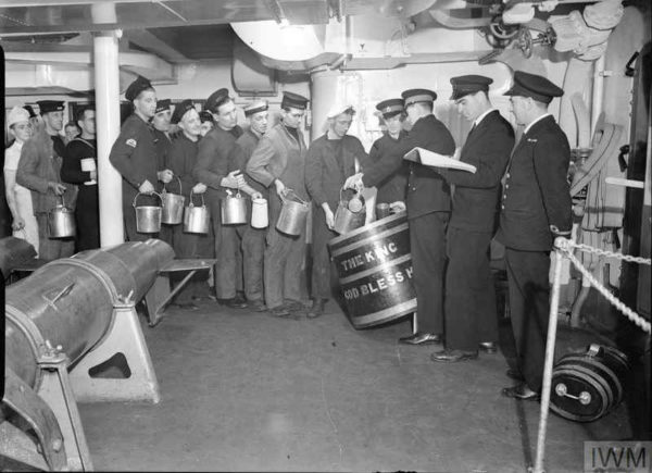 Navy Rum and the Black Tot, 50 Years Later