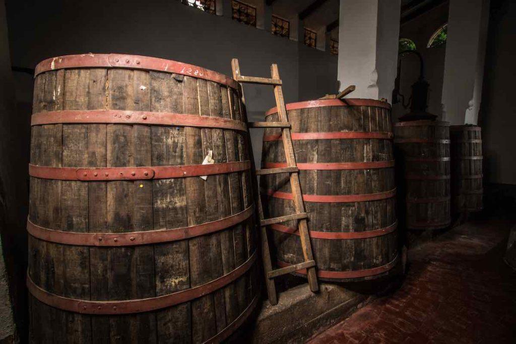 Santa Teresa Rum Barrels