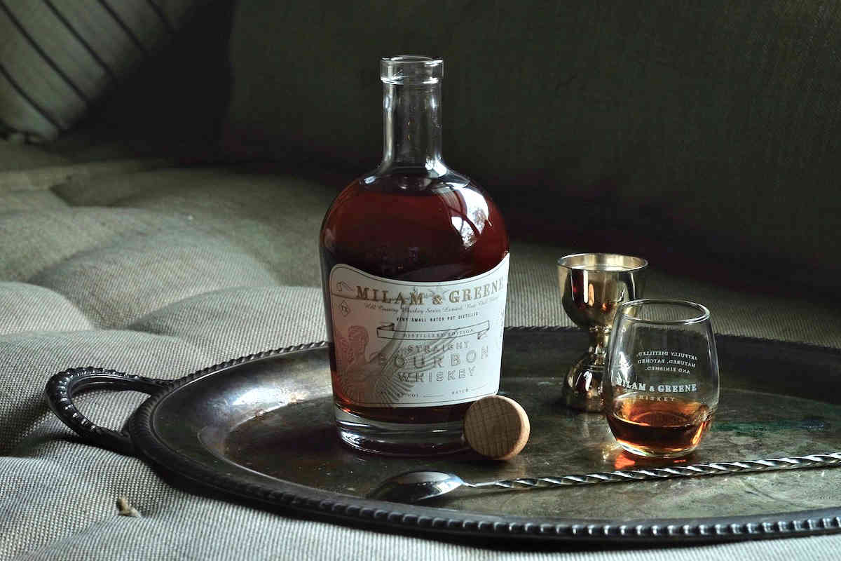 milam and greene limited edition straight bourbon