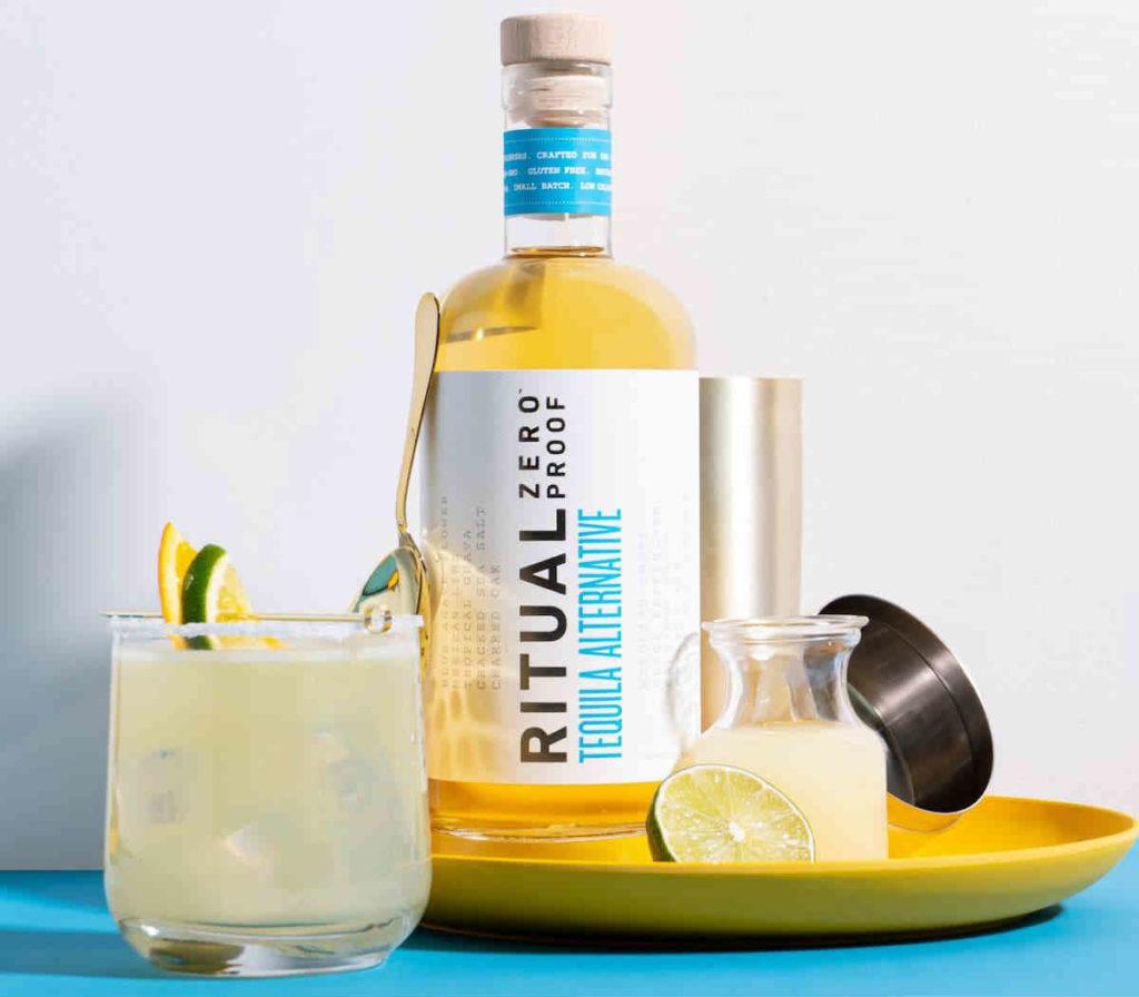 Ritual Zero Proof Tequila Cocktail