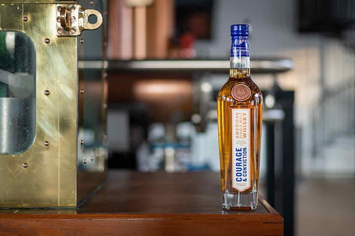 virginia distillery courage and conviction whiskey
