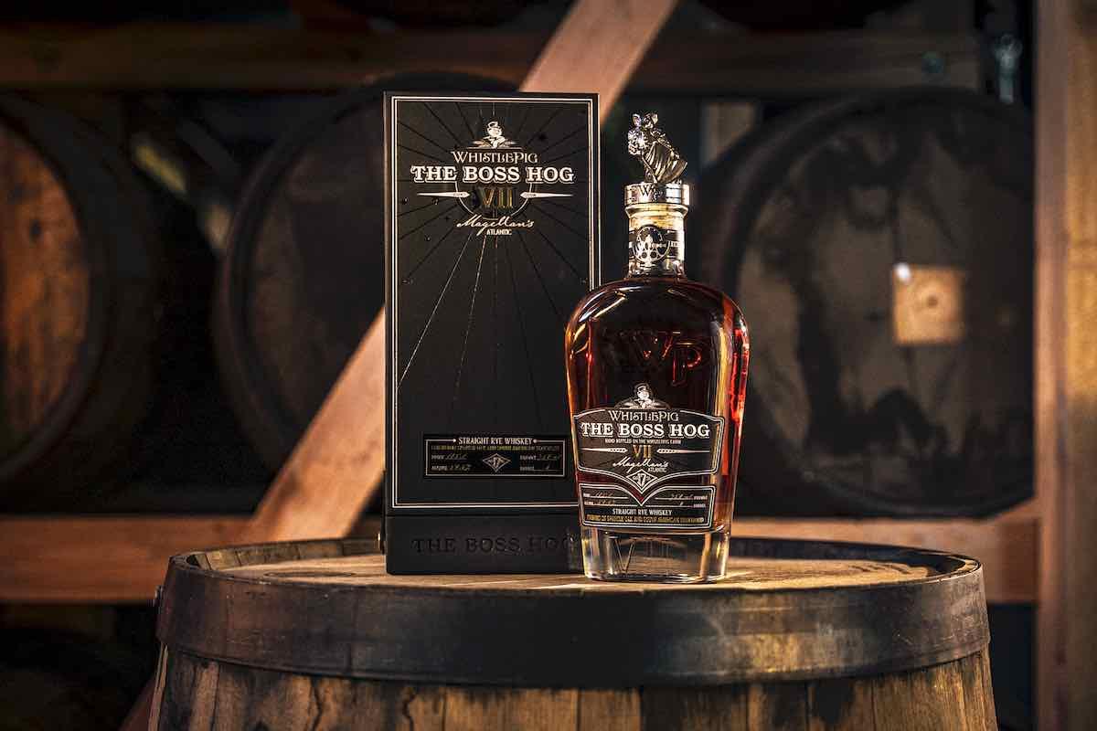 WhistlePig Boss Hog Magellan's Atlantic Rye Whiskey