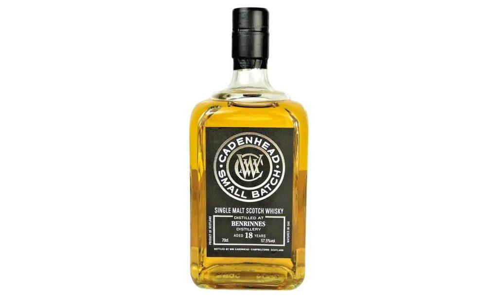 WM Cadenhead Benrinnes 18 year old whisky