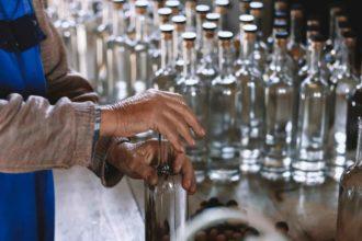 yebiga rakija bottles