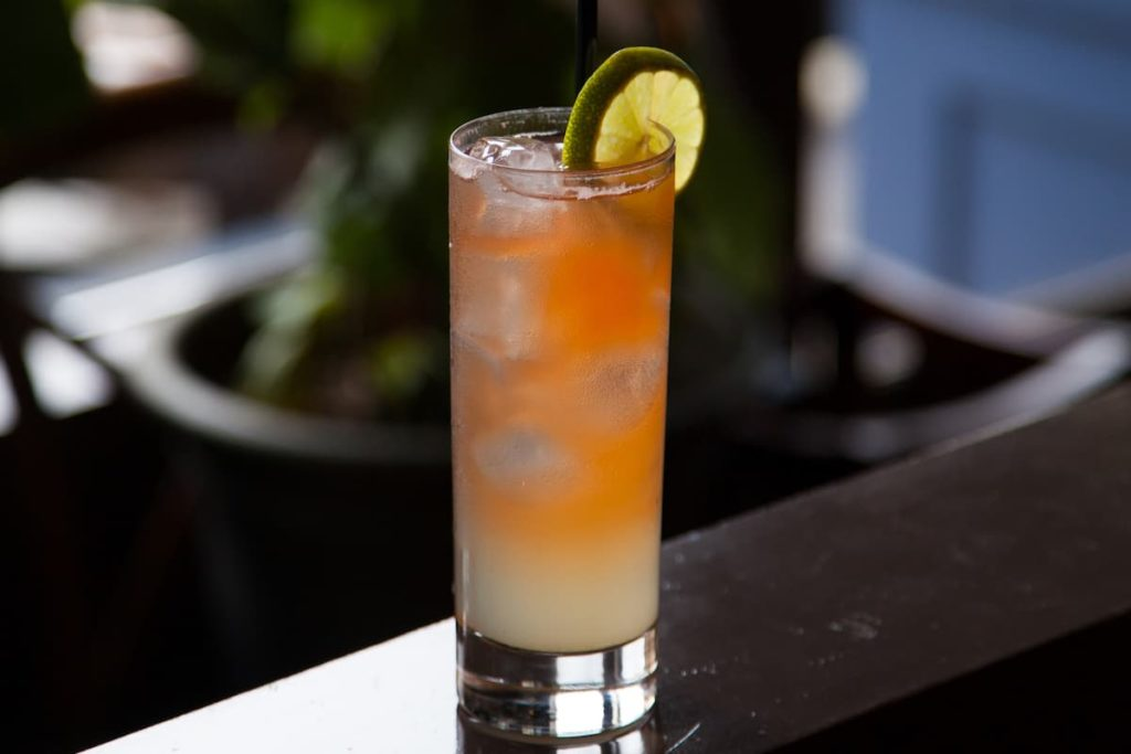 Novo Fogo Cachaca Brazilian Buck cocktail