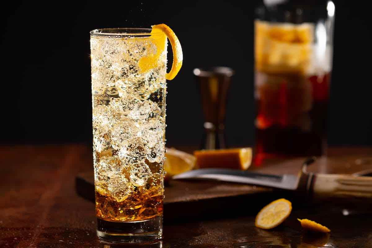 Hatozaki Finest Whisky Highball cocktail