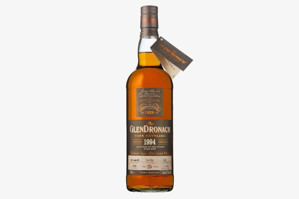 GlenDronach 1994 Cask 5287 scotch whisky bottle