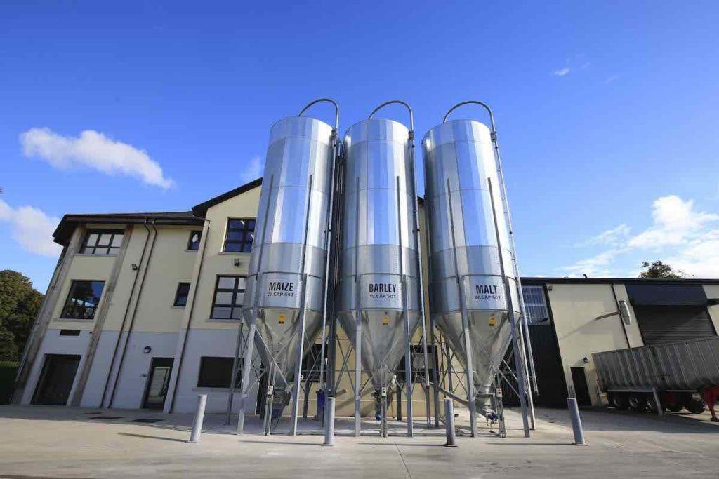 royal oak distillery grain silos