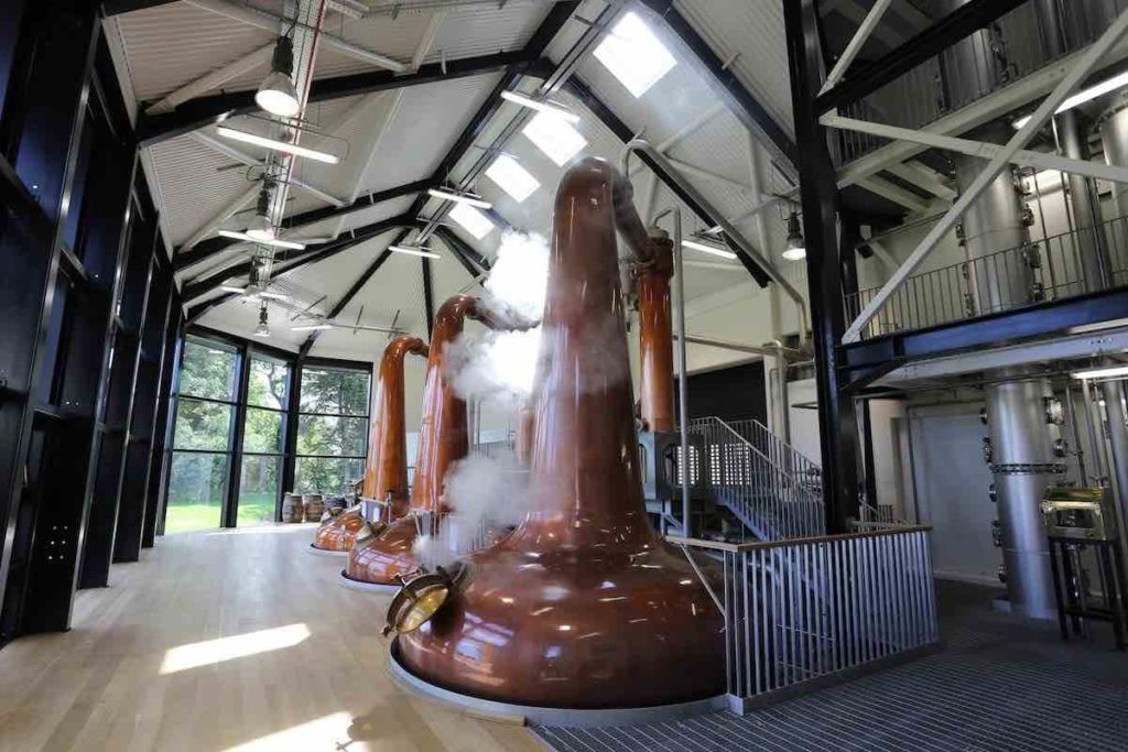 royal oak distillery copper pot stills