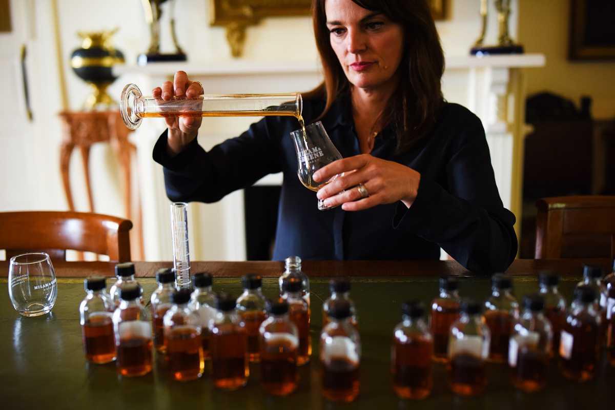 Heather Greene Blending Whiskey