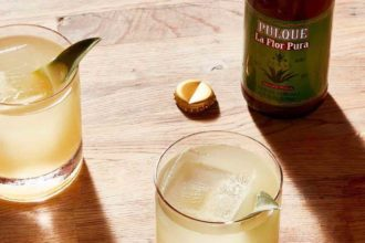 Tiny's Cantina Pulque Cocktail