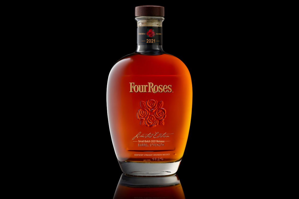 2021 Four Roses Limited Edition Small Batch bourbon bottle