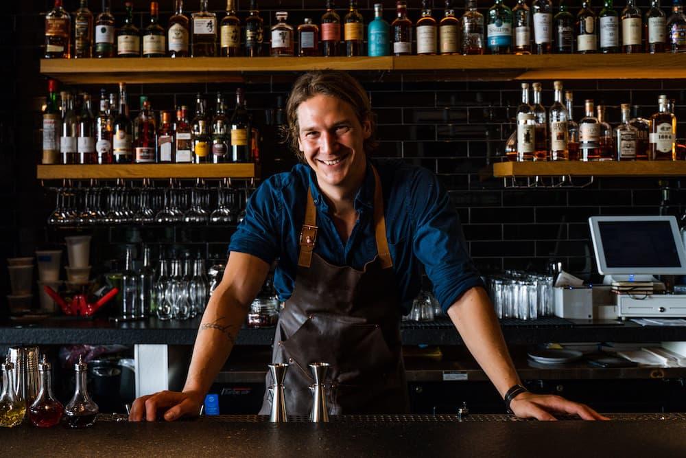 Bartender Adam Fournier at Fellow in Los Angeles