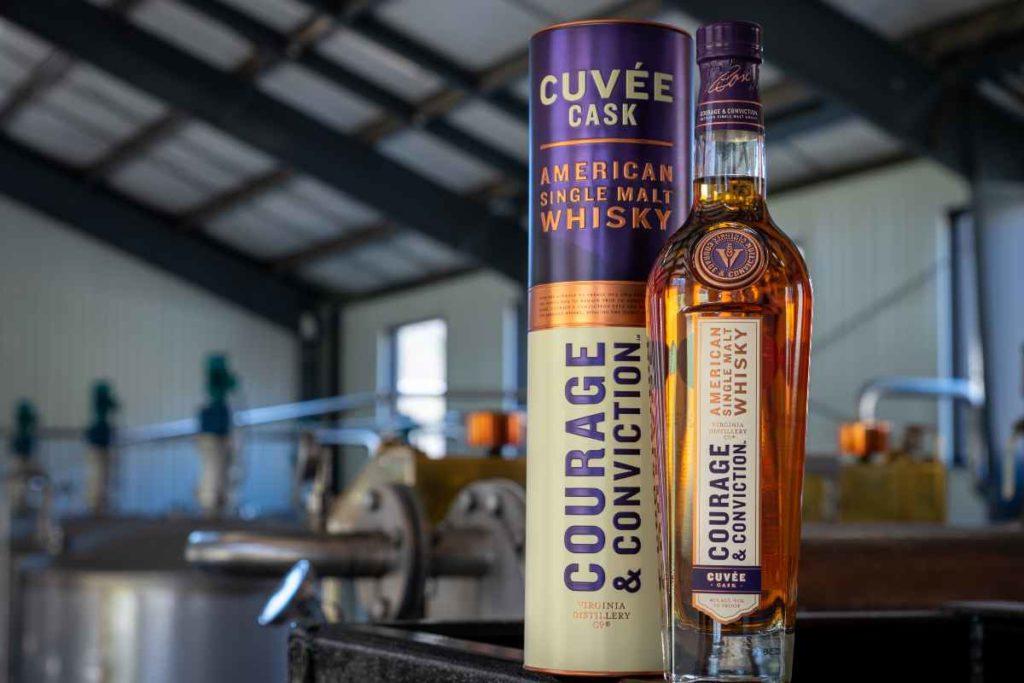 Virginia Distillery Co Cuvee Cask Whisky bottle