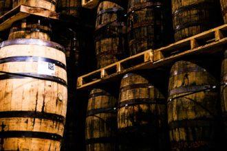 Virginia Distillery Co whiskey casks
