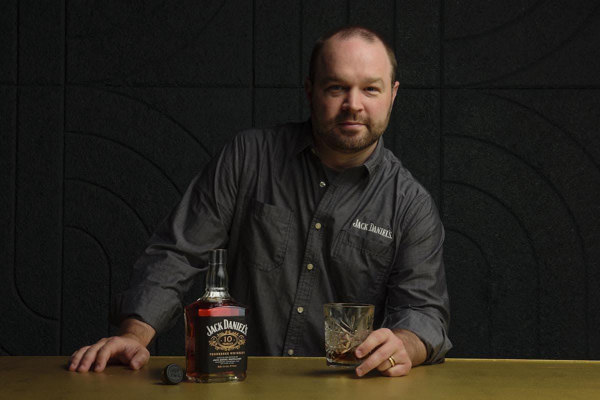 master distiller chris fletcher with jack daniels 10 year