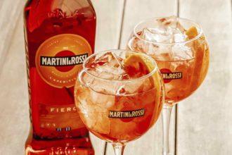Martini & Rossi Fiero orange vermouth cocktail