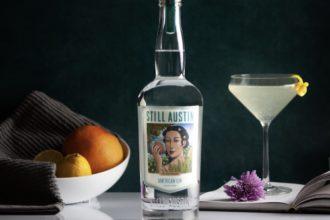 still austin american gin cocktail